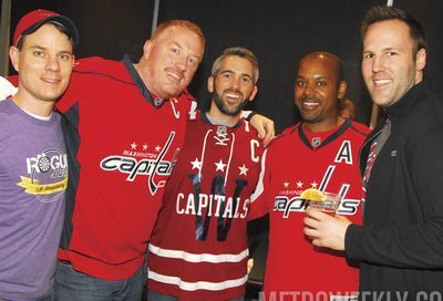 Team DC's Night OUT at the Capitals